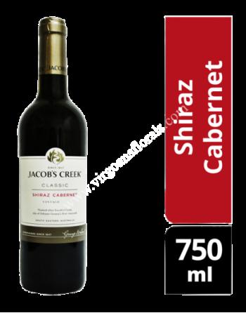 Jacob's Creek Classic Red Wine - Shiraz Cabernet 750ml