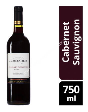Jacob's Creek Red Wine - Cabernet Sauvignon 750ml