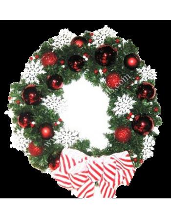 Christmas Wreaths - Joyful Christmas